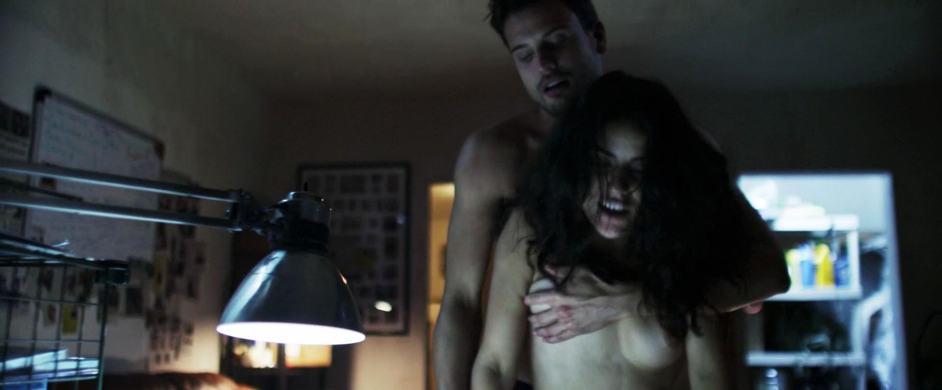Veronica Sixtos nude - Hostile Border (2015)