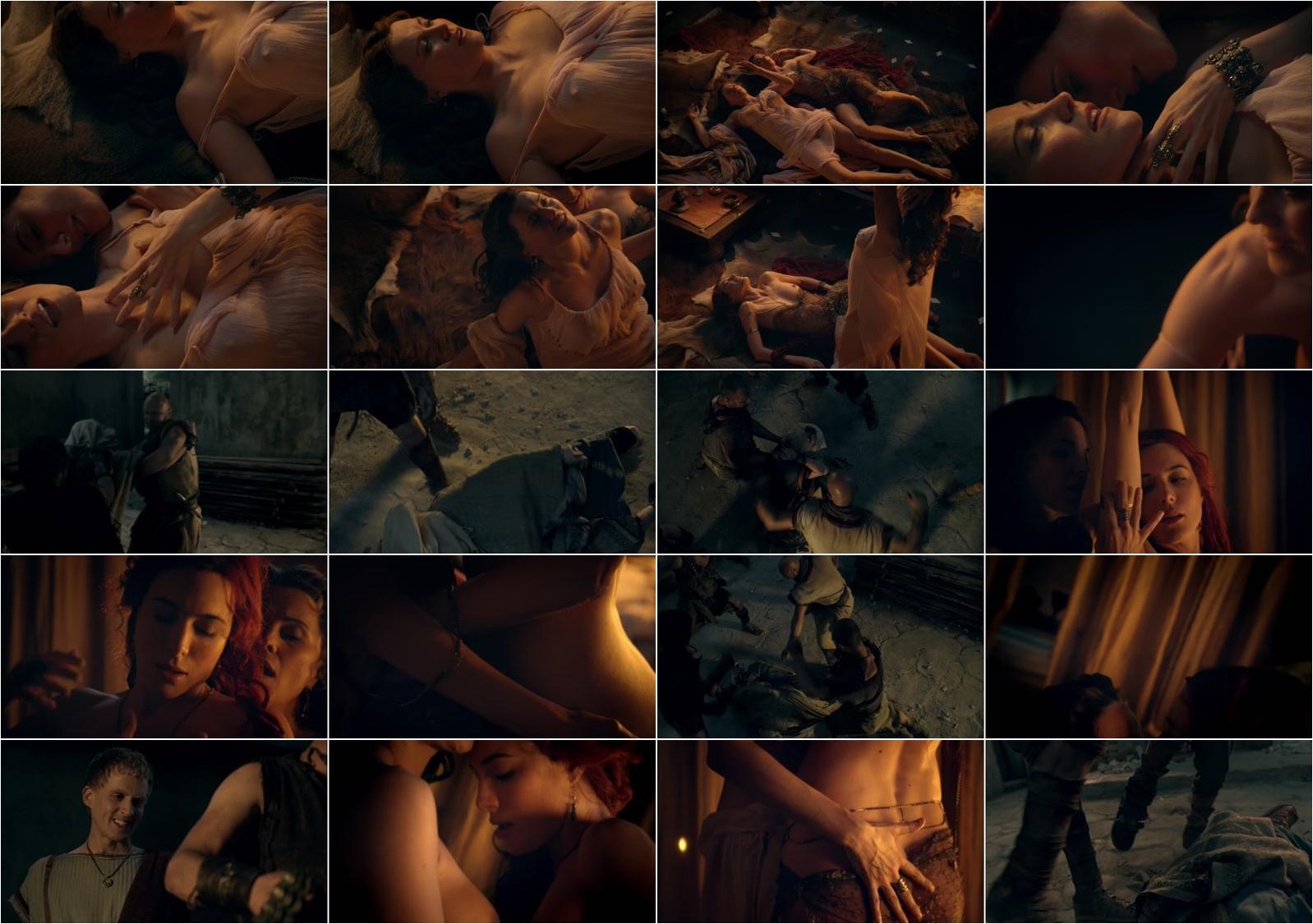 Lucy Lawless nude, Jaime Murray nude - Spartacus: Gods of the Arena s01e01 (2011)