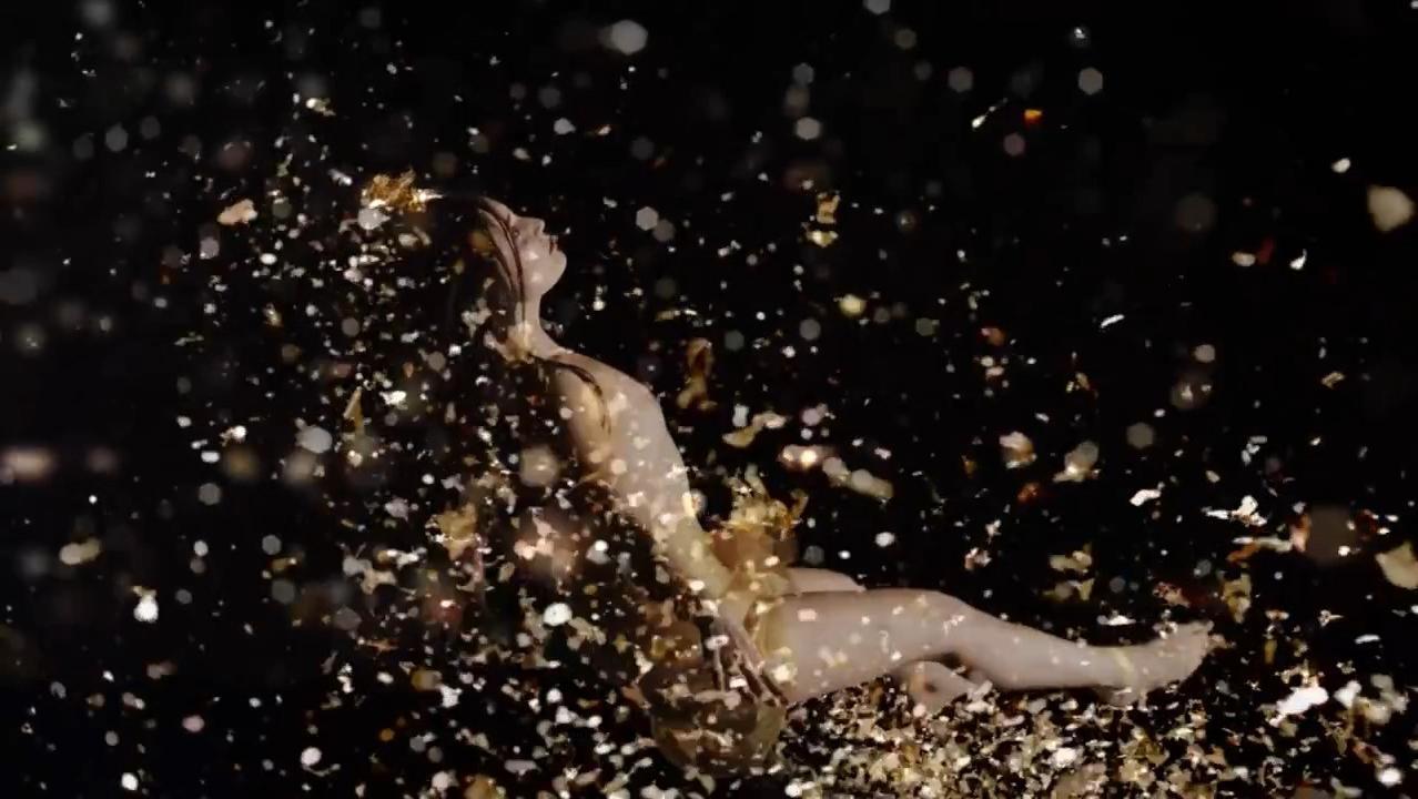 Adrienne Mora nude - Reimagining Gentileschi's Danae (2016)