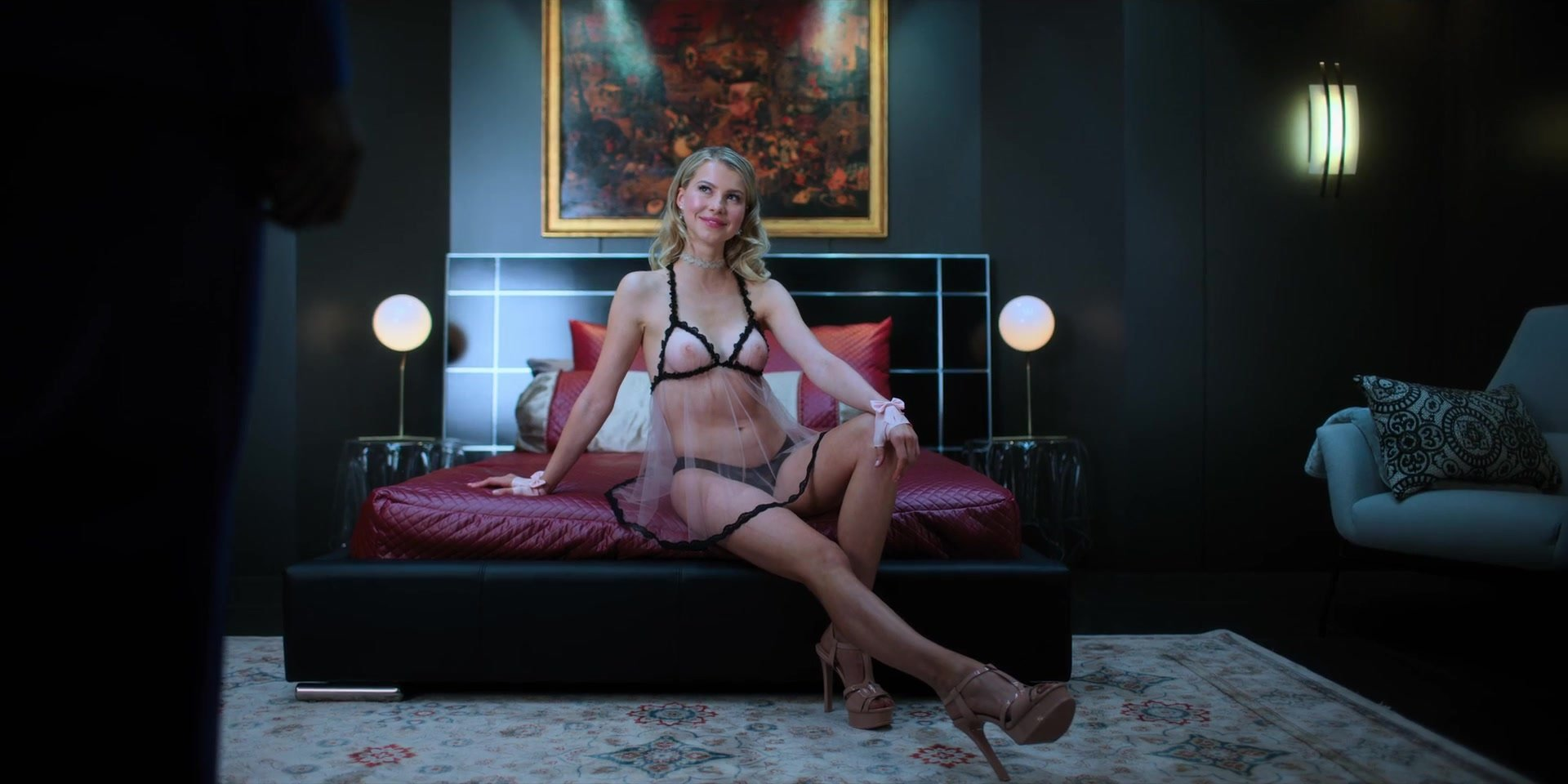Martha Higareda, Kristin Lehman nude - Altered Carbon S01 E09 (2018)