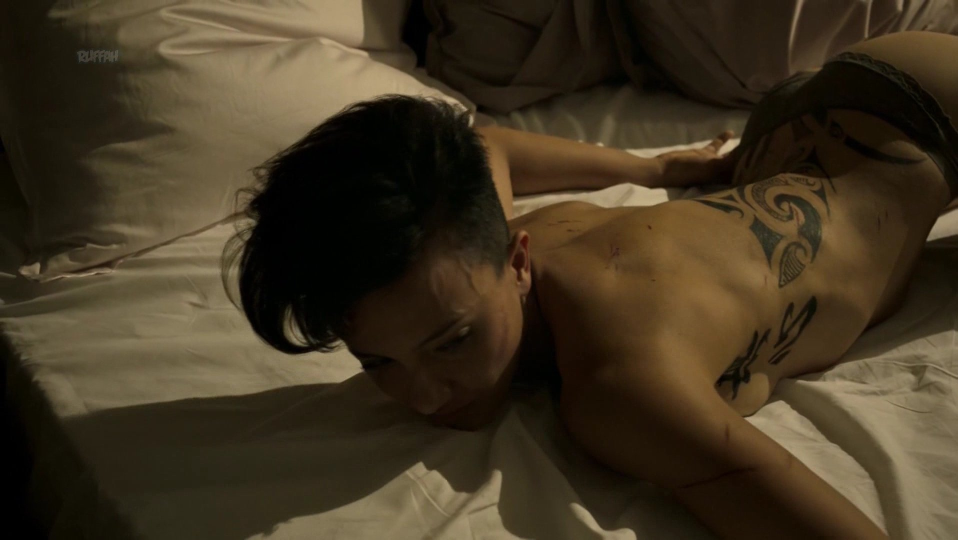 Alin Sumarwata nude - Strike Back s06e06 (2018)