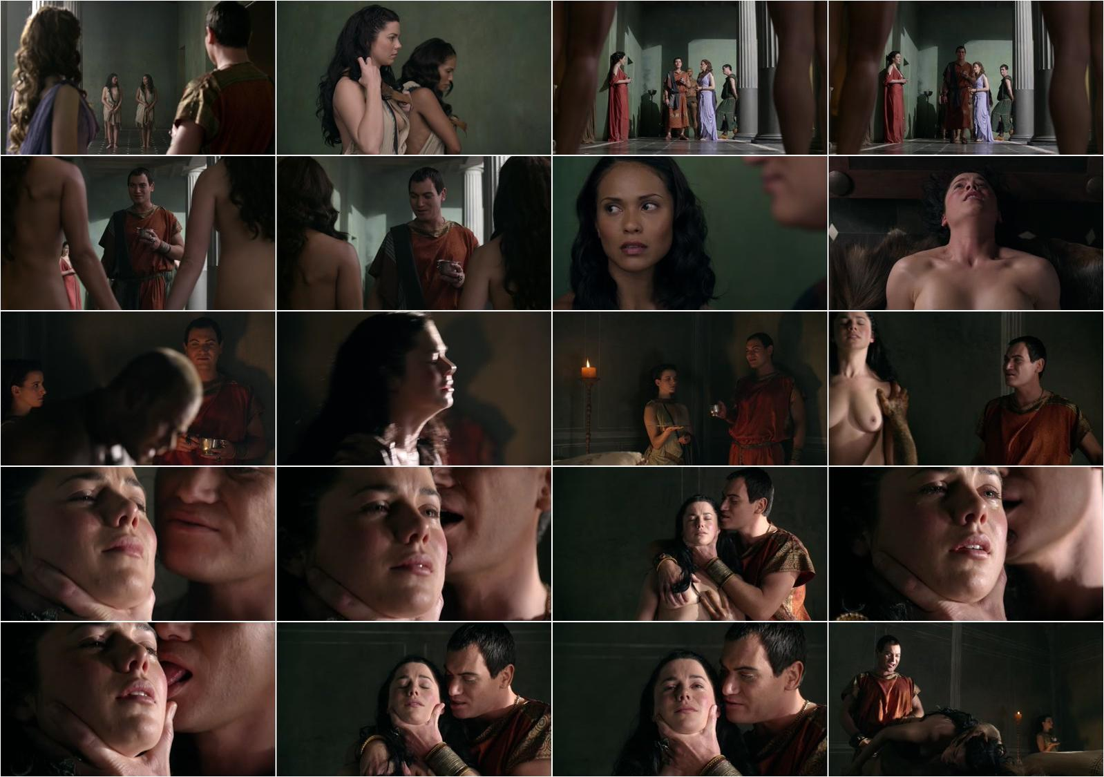 Jessica Grace Smith nude, Lesley-Ann underwearndt nude - Spartacus: Gods of the Arena s01e03 (2011)