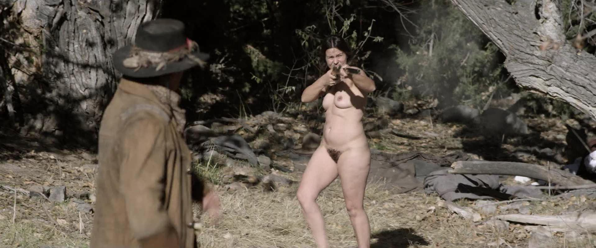Trine Christensen nude - Godless s01е02 (2017)
