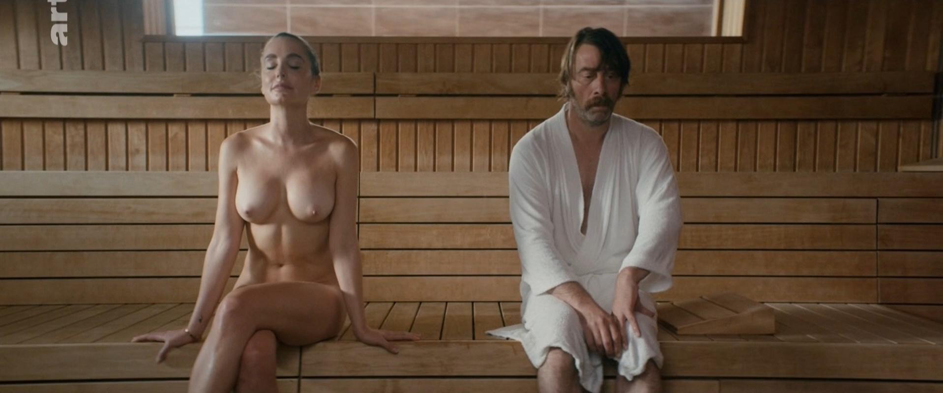 Sylvia Dierckx nude, Sofia Leboutte nude - Vihta (2018)