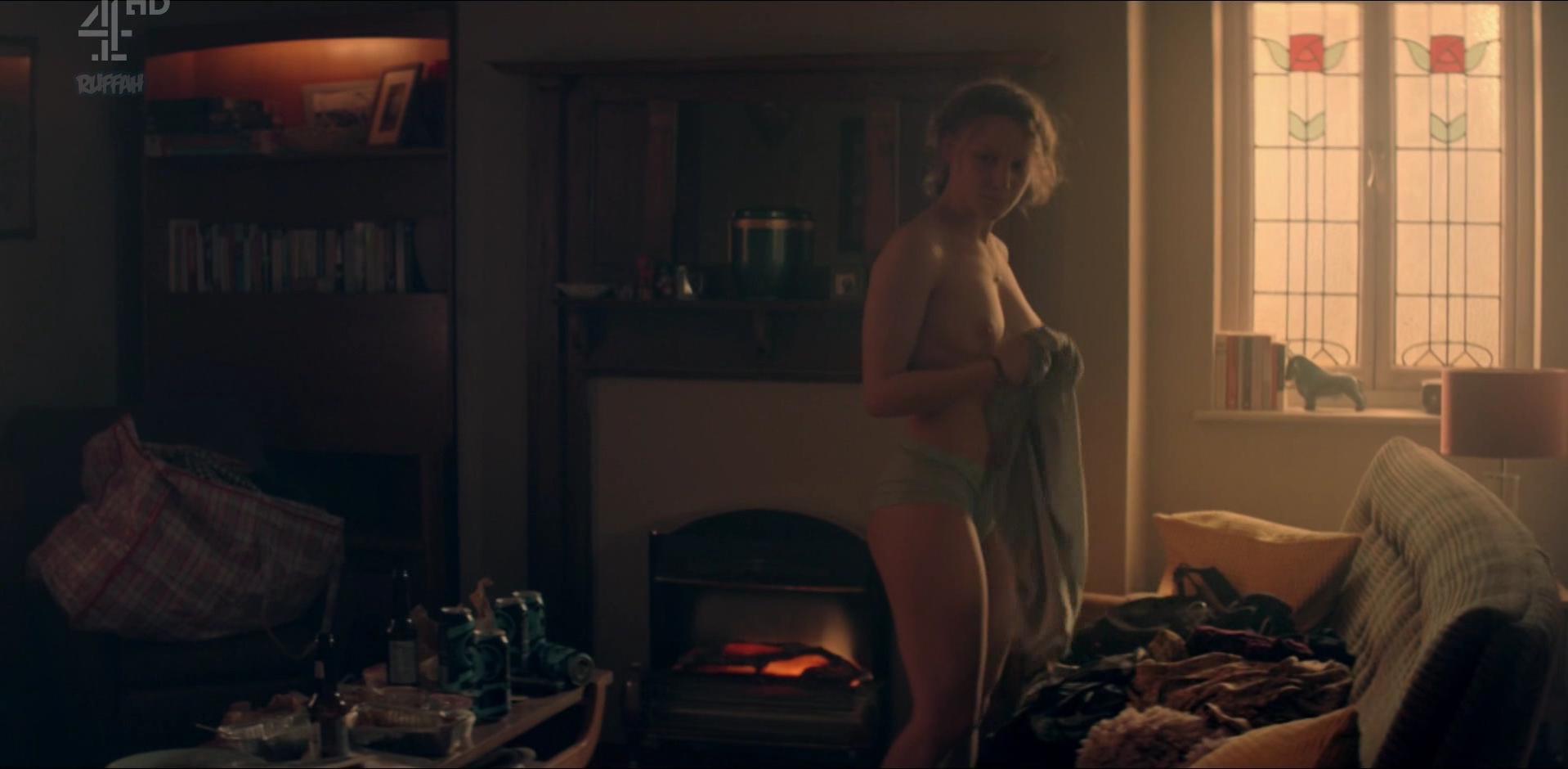 Simona Brown nude, Tallulah Haddon nude - Kiss Me First s01e02 (2018)