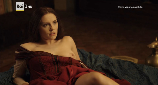 Annabel Scholey nude - Medici Masters of Florence s01e06 (2016)