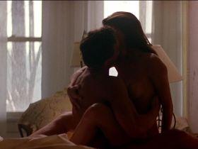 Mia Sara nude - Timecop (1994)