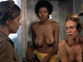 Pam Grier nude - Black Mama, White Mama (1973)