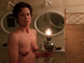 Sigourney Weaver nude - Death and the Maiden (1994)