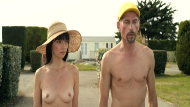 Nude beach erection video