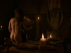Oona Chaplin nude - Game of Thrones s02e08 (2012)