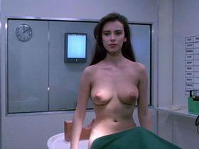 Mathilda May nude - Lifeforce (1985)