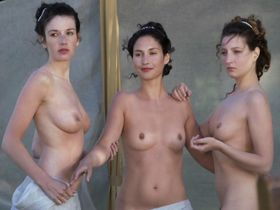 Blandine Bury nude, Coralie Revel nude, Lea Wiazemsky nude, Marie-Clotilde Ramos-Ibanez nude - Louis XV le soleil noir (2009)