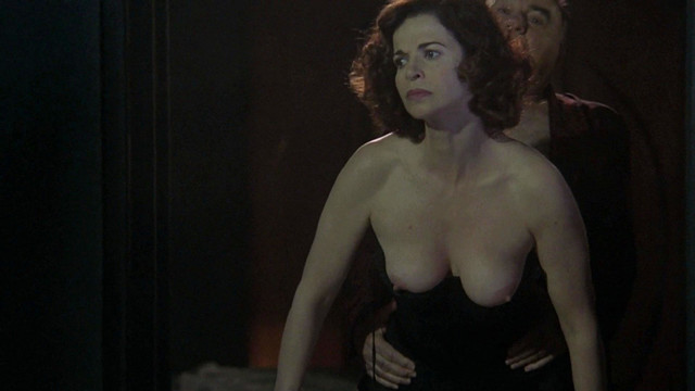 Anna Galiena nude - Black Angel (2002)