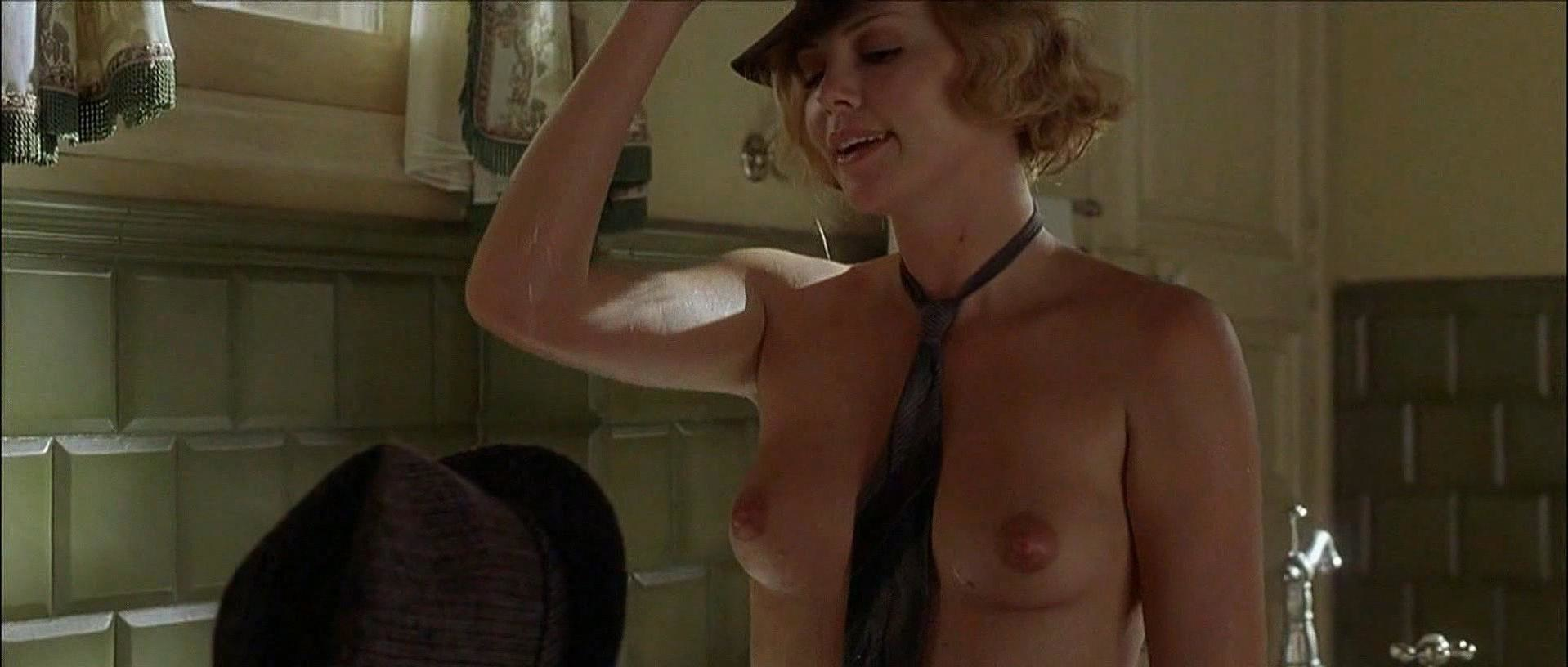 Charlize Theron nude - Head in the Clouds (2004)