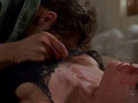 Farrah Fawcett nude - Extremities (1986)