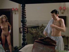 Alex Kingston nude, Kate Hardie nude - Croupier (1998)