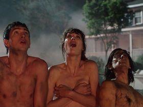 Mackenzie Davis nude - Freaks Of Nature (2015)
