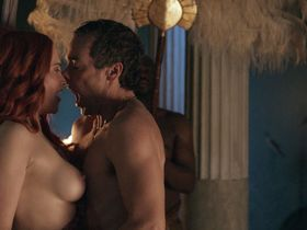 Lucy Lawless nude - Spartacus: Blood and Sand s01e02 (2010)