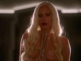 Lady Gaga sexy, Chasty Ballesteros sexy - American Horror Story s05e01 (2015)