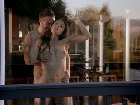 Leah Gibson nude - Rogue s01e03 (2013)