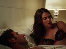 Jessica Lowndes sexy - Larry Gaye: Renegade Male Flight Attendant (2015)