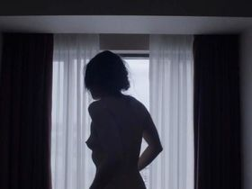 Emily Hampshire nude - Holder's Comma (2014)