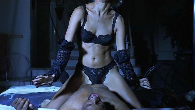Black nude show