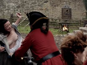 Laura Donnelly nude, Caitriona Balfe nude - Outlander s01e02 (2014)