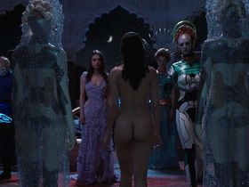 Tuppence Middleton nude, Vanessa Kirby sexy - Jupiter Ascending (2015)