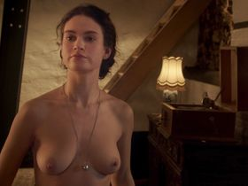 Lily James nude - The Exception (2016)