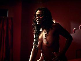 Yetide Badaki nude - American Gods s01e01 (2017)