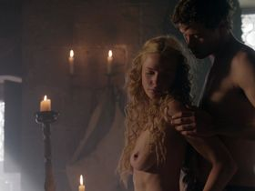 Rebecca Ferguson nude - The White Queen s01e01 (2013)