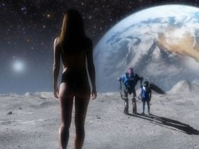 Sarah Butler nude - Moontrap Target Earth (2017)