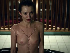 Emily Browning nude - American Gods s01e05 (2017)
