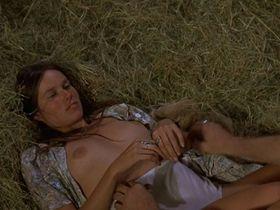 Barbara Hershey nude - Boxcar Bertha (1972)