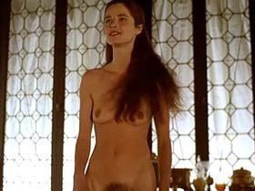 Charlotte Rampling nude - Giordano Bruno (1973)