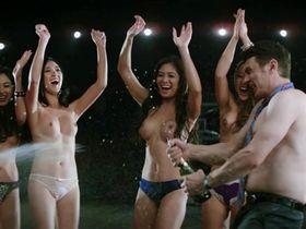 Diana Bang sexy, Hazeltine Gariza nude, Michelle Kim nude, Lia Lam nude, Peenkay Tang nude - The Interview (2014)
