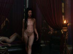 Olivia Cheng nude, Tara Lucia Prades nude - Marco Polo s01e03 (2014)