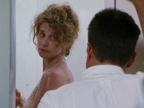 Nancy Travis nude, Annabella Sciorra nude - Internal Affairs (1990)