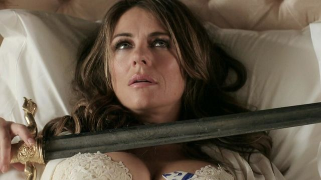 Elizabeth hurley beautiful and completely nude are not