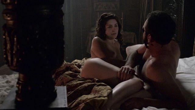 Nude Video Celebs  Emma Hamilton Nude - The Tudors S03E03 -3383