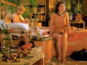 Frances Barber nude, Guusje van Tilborgh nude - A Zed & Two Noughts (1985)
