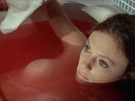 Jacqueline Bisset nude, Barbara Parkins nude - The Mephisto Waltz (1971)