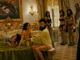 Megan Fox sexy, Anna Faris sexy, Dawn Jackson nude, Dominique DiCaprio nude - The Dictator (2012)