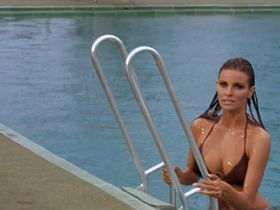 Raquel Welch sexy, Christine Todd nude - Lady in Cement (1968)