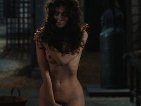 Rona De Ricci nude - The Pit and the Pendulum (1990)