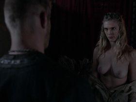 Gaia Weiss nude - Vikings s02 (2014)