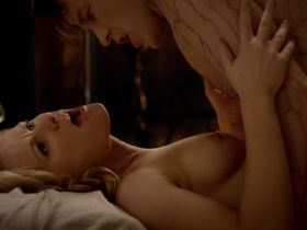 Carrie Preston sexy, Anna Paquin nude - True Blood s07e07 (2014)