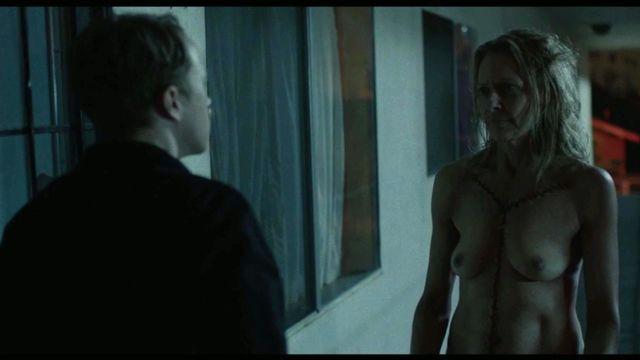 Heida reed lesbian scene in stella blomkvist s01e04 - 2 part 6